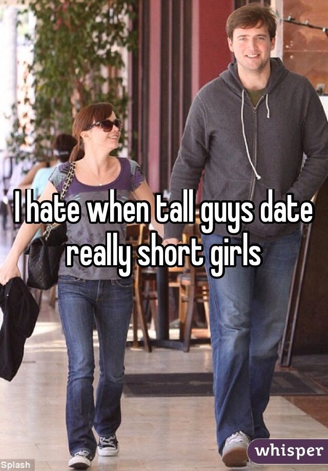 Dating a really tall guy with short