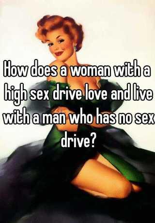 Man has no sex drive