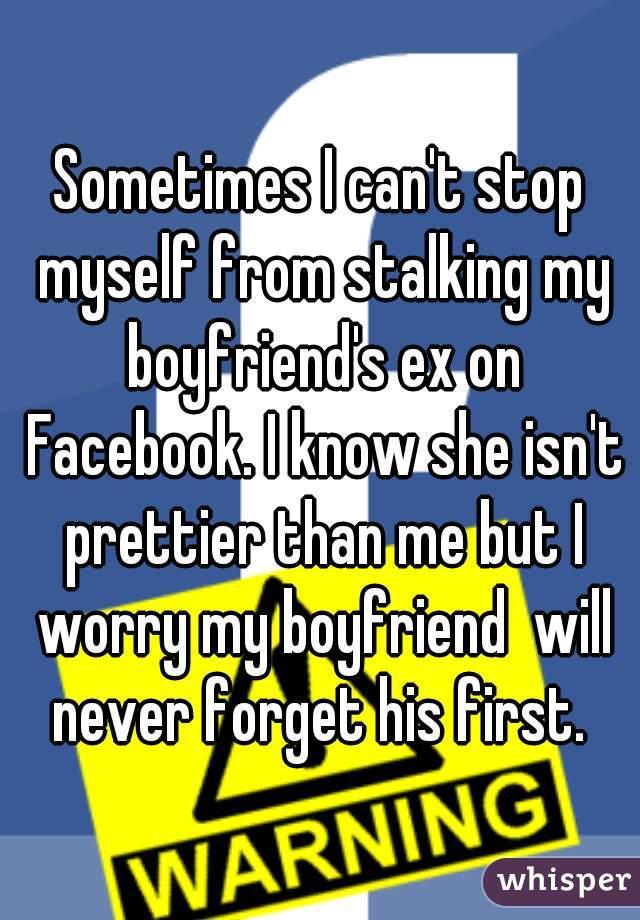 My boyfriends ex is stalking me on facebook