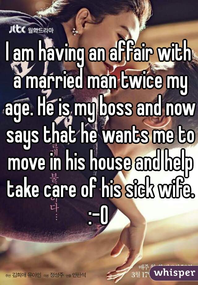 Married Man Wants To Have An Affair