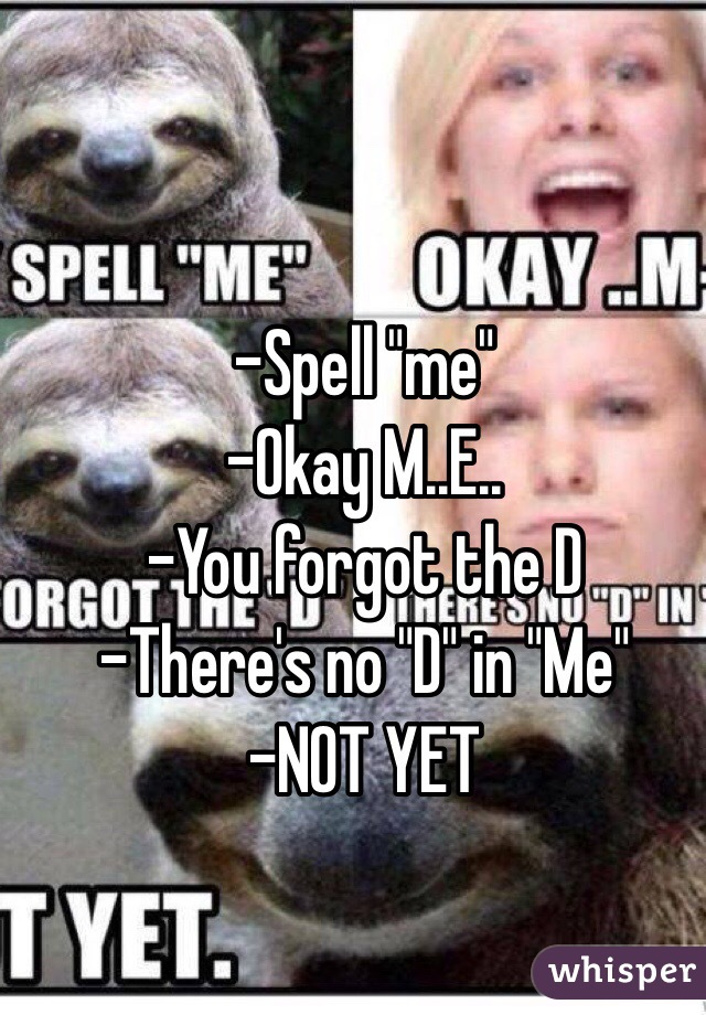 YOU AND ME SPEL