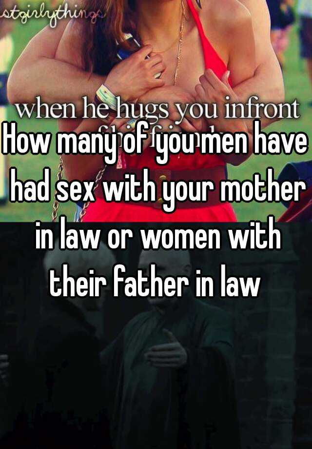 How do you have sex with your mom