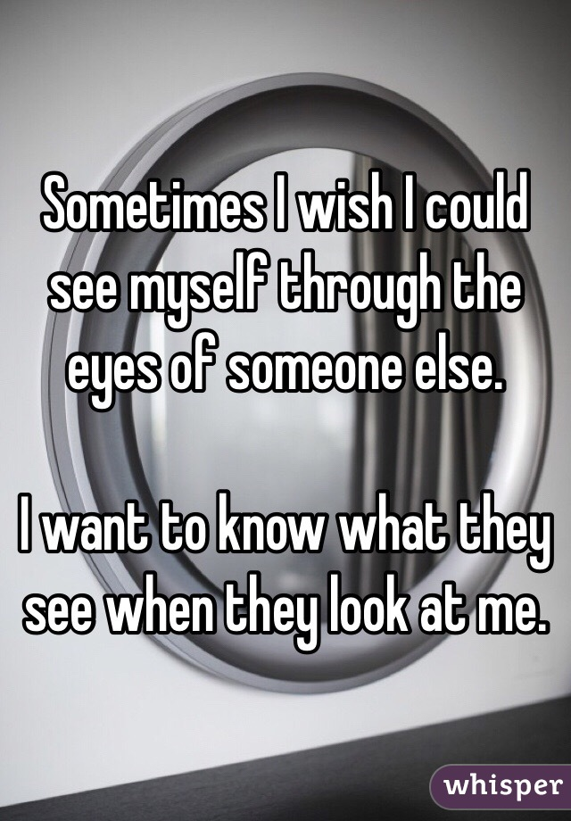 i want to see someone