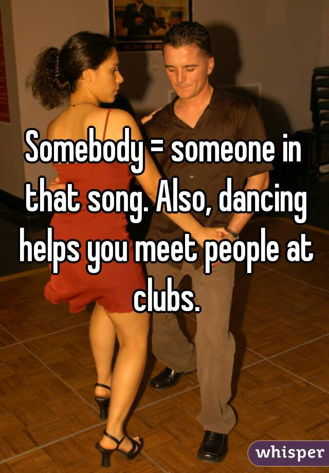 Clubs to meet people
