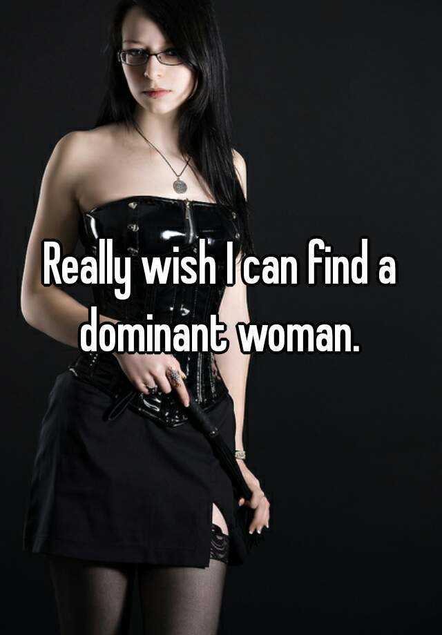 find dominant women