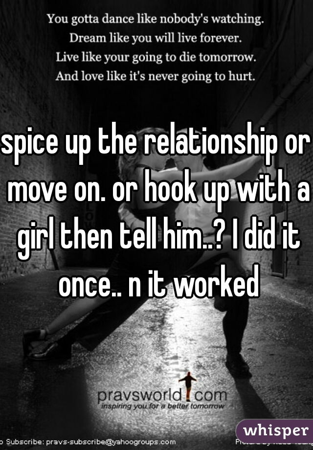 hook up then relationship