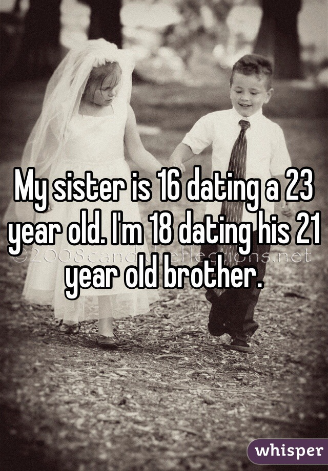 23 and 16 year old dating