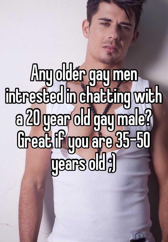 50 year old gay men