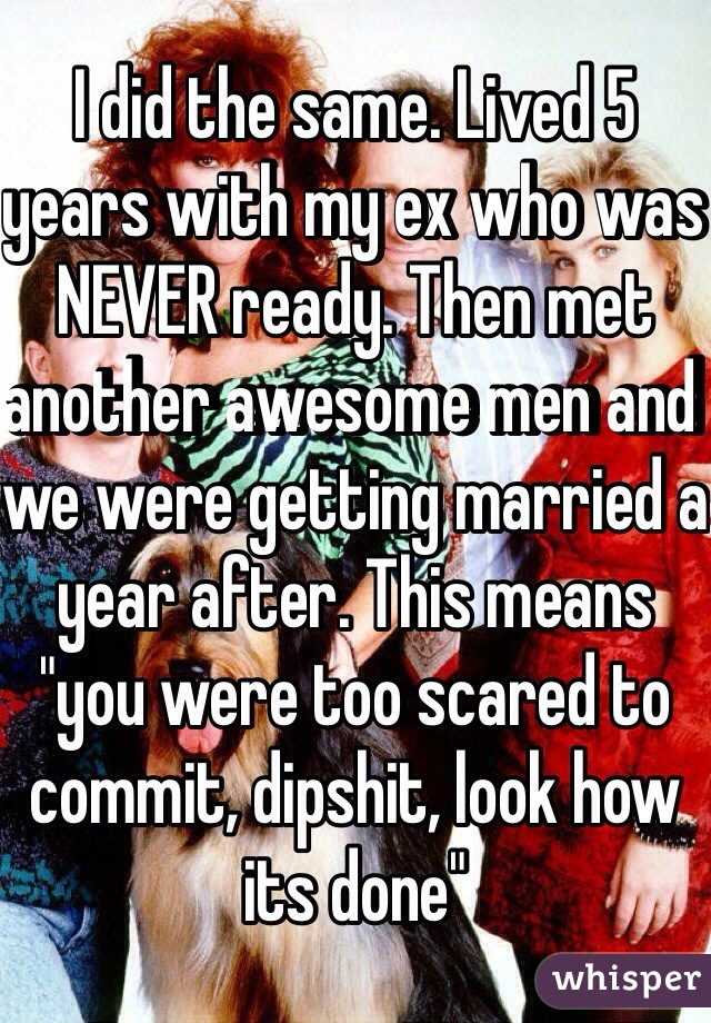 married 5 years means