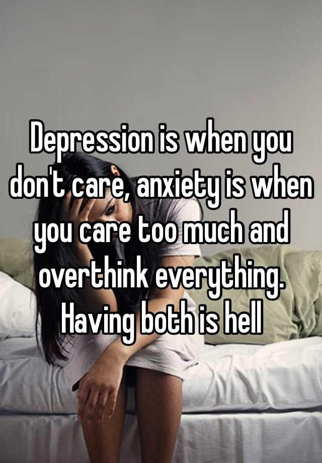 i overthink everything anxiety