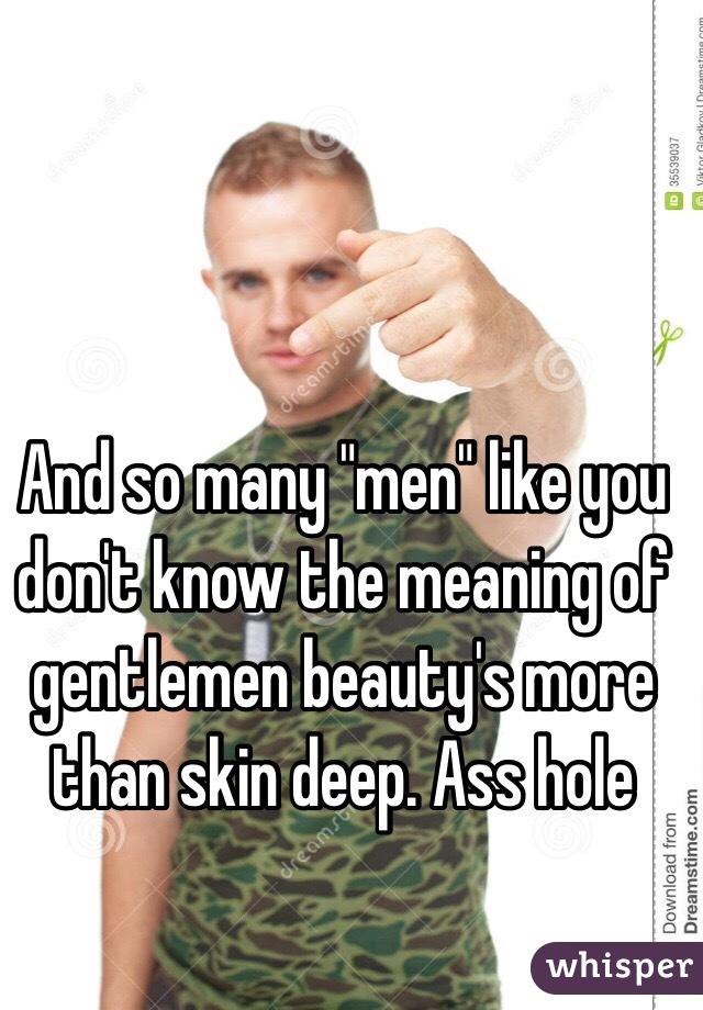 Hole ass deep nice