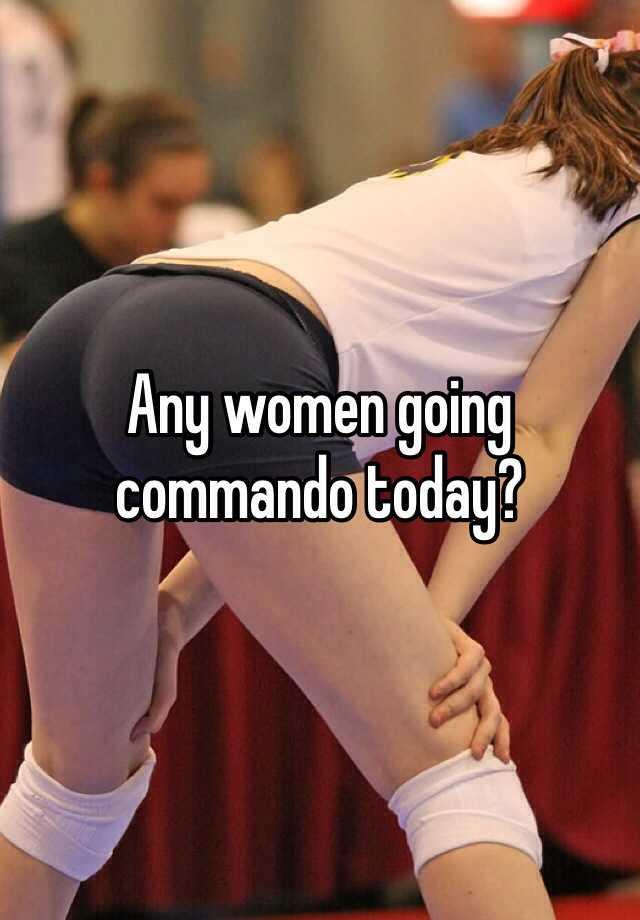 Women going commando at work