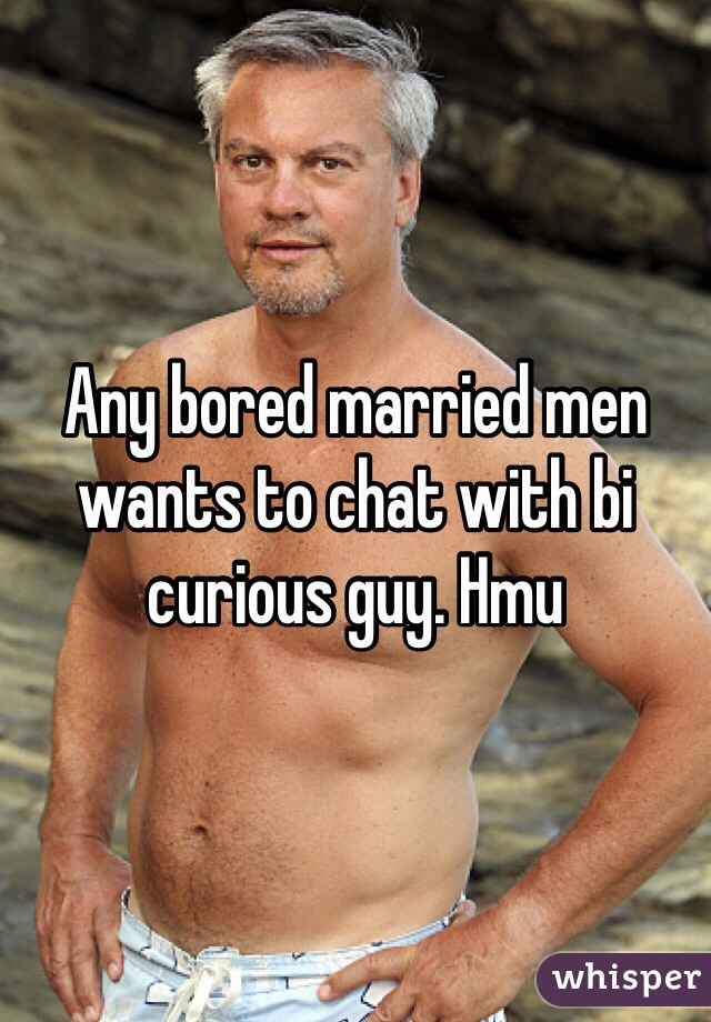 Bi curious men chat