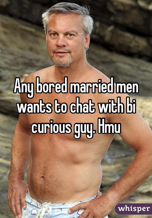 Bi curious men chat