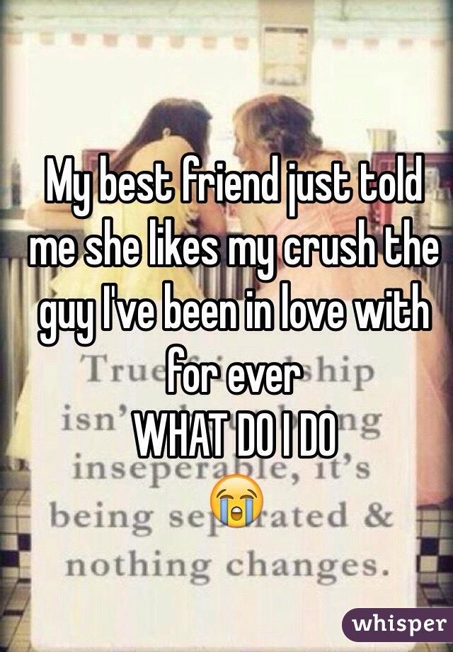 Does my friend like my crush