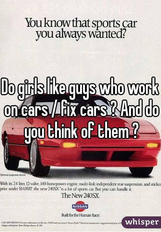 why do men like cars