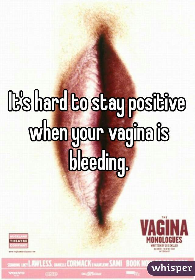 Bleeding from your vagina