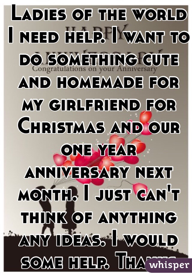 I Want To Do Something Nice For My Girlfriend