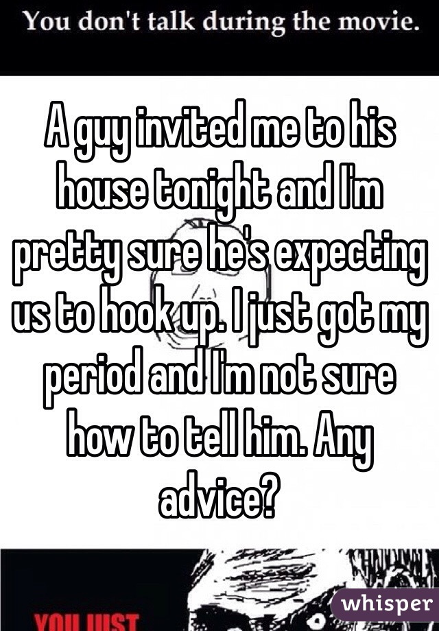 hook up during period
