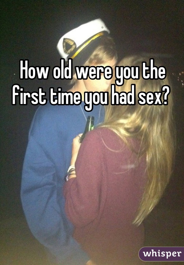 First time you had sex stories