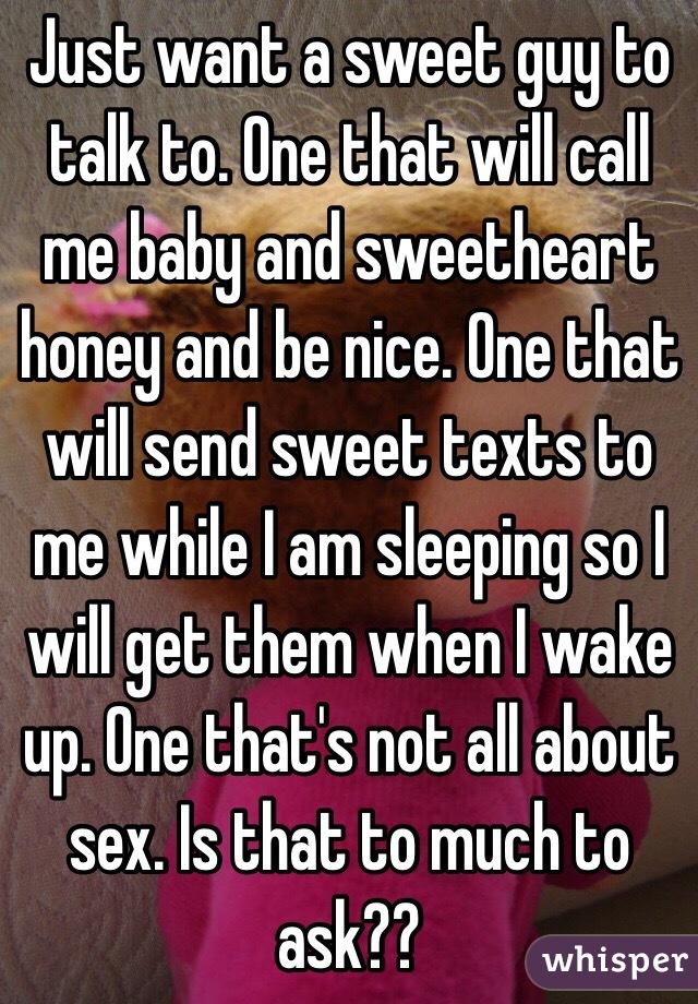 Sex talk on call