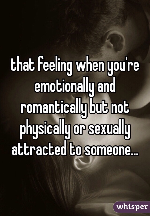 When a guy is not sexually attracted to you