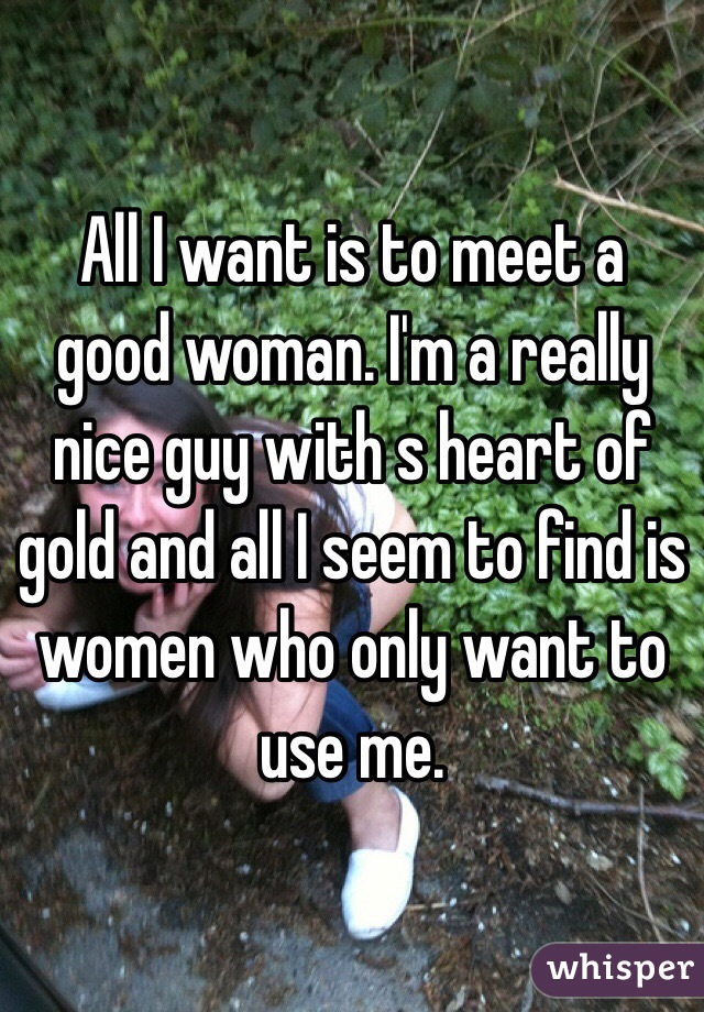 How to find a nice woman