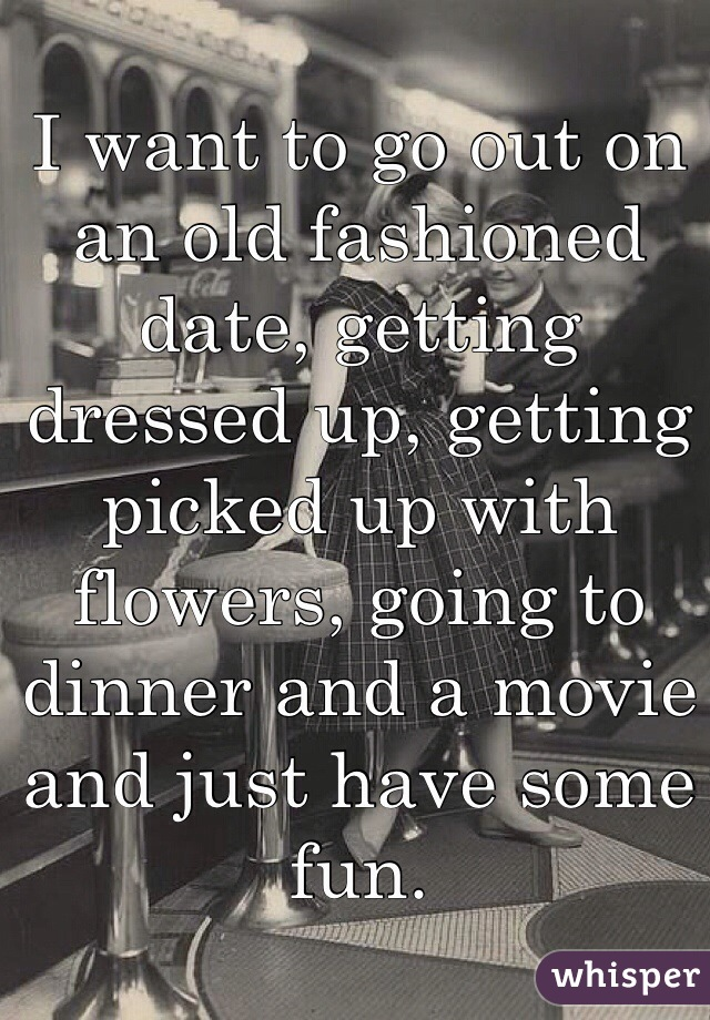 want to go out on a date
