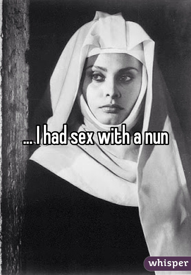 Important and Nun picture sex nice