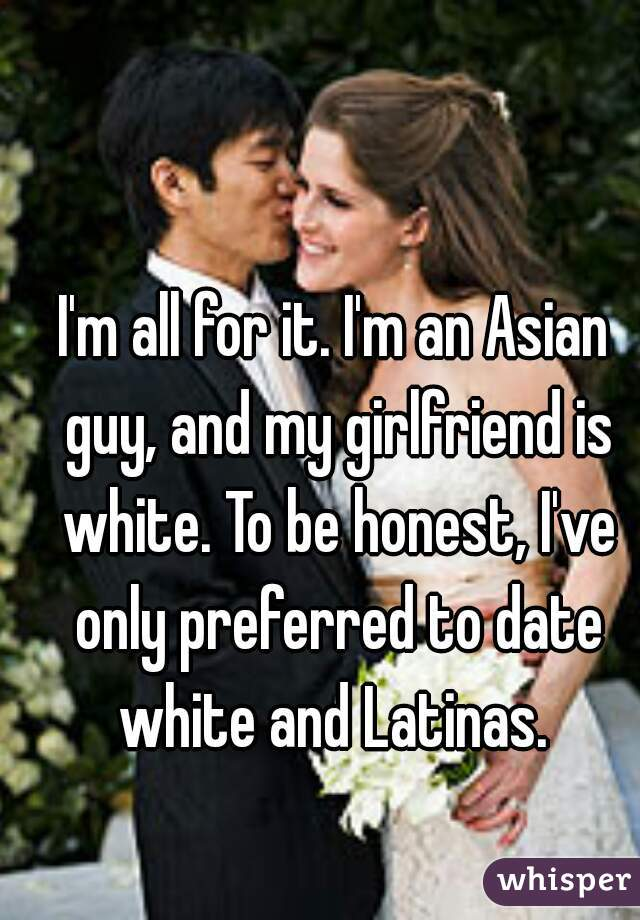 A White Guy Asian Dating Im