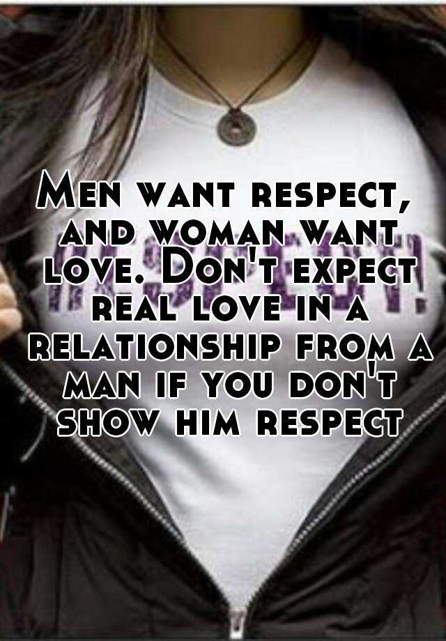 How To Tell A Man You Respect Him