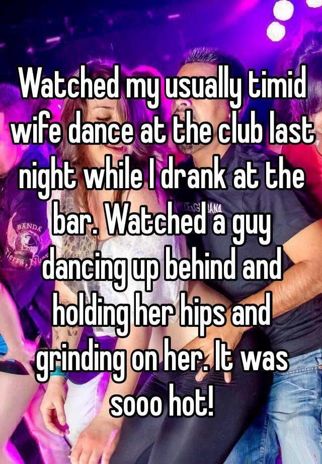 Real Wife At Bar Dancing