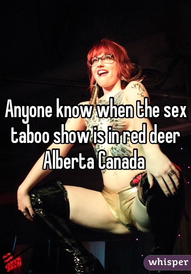 Taboo sex show red deer
