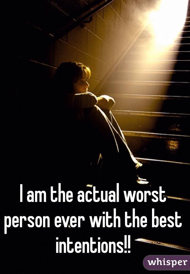 værste jeg er