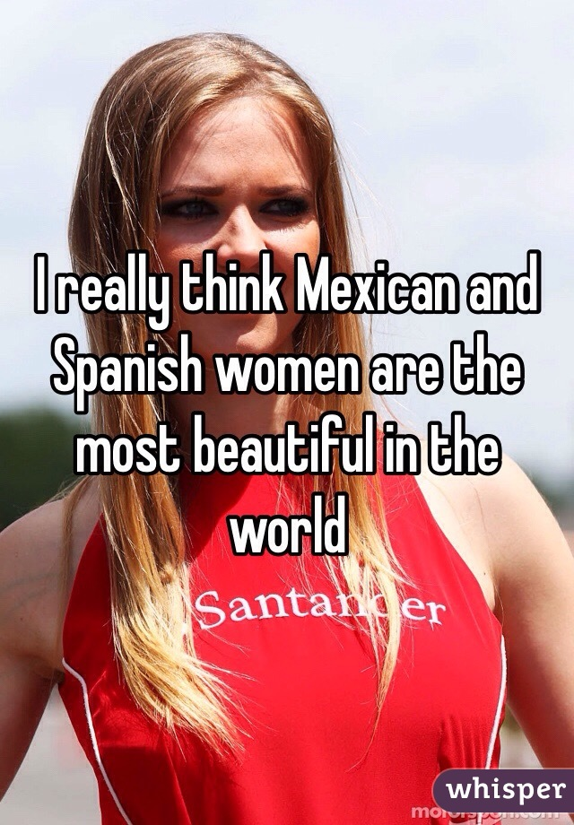 Are mexican women pretty