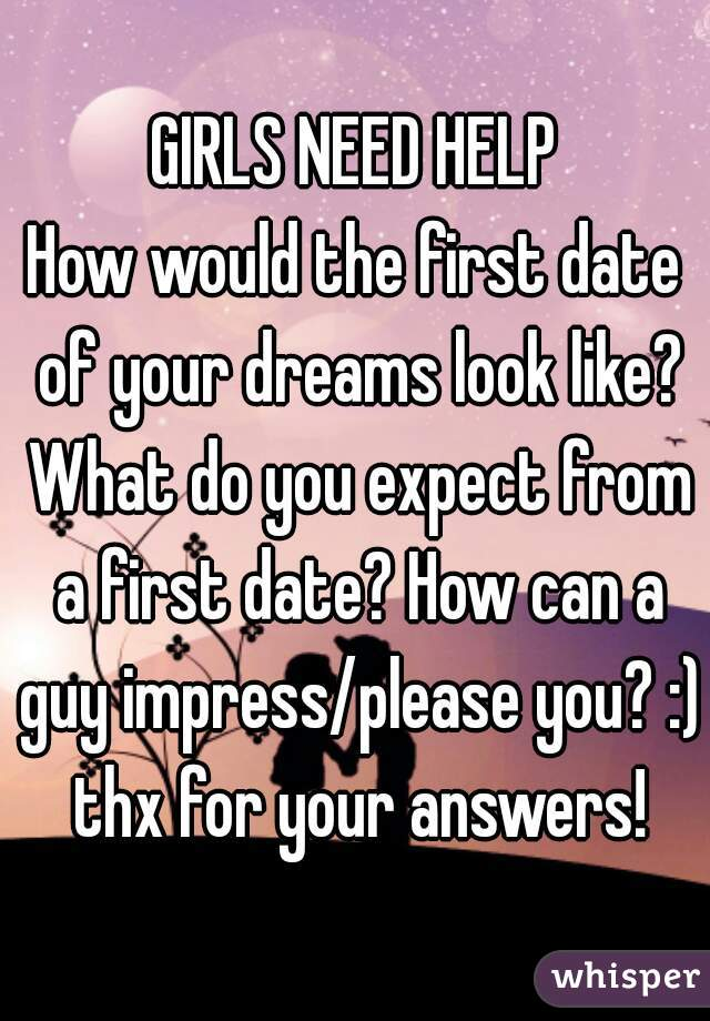 What Would You Do On A First Date