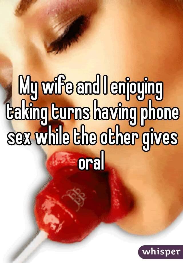 Taking Turns On Wife