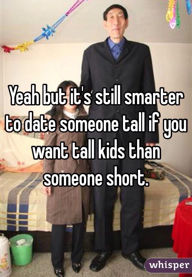 Dating someone much smarter