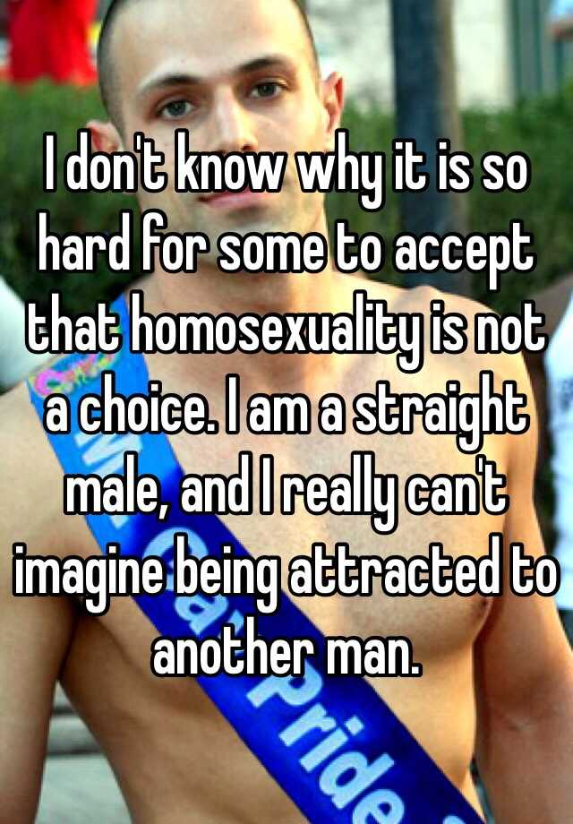 homosexuality is not a choice essay Is homosexuality a choice by marcia malory on government should protect gay people from discrimination because homosexuality is an unalterable aspect of.