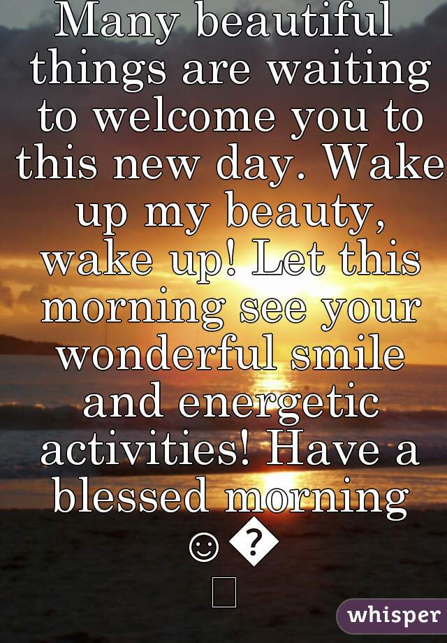 Image result for welcome to a new day