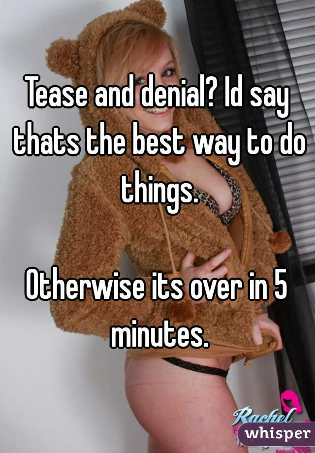 Tese and denial