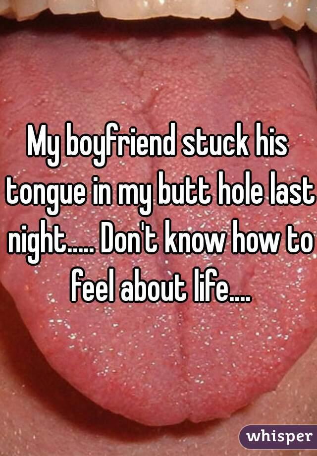 Topic simply Tongue stuck in anus xxx can speak