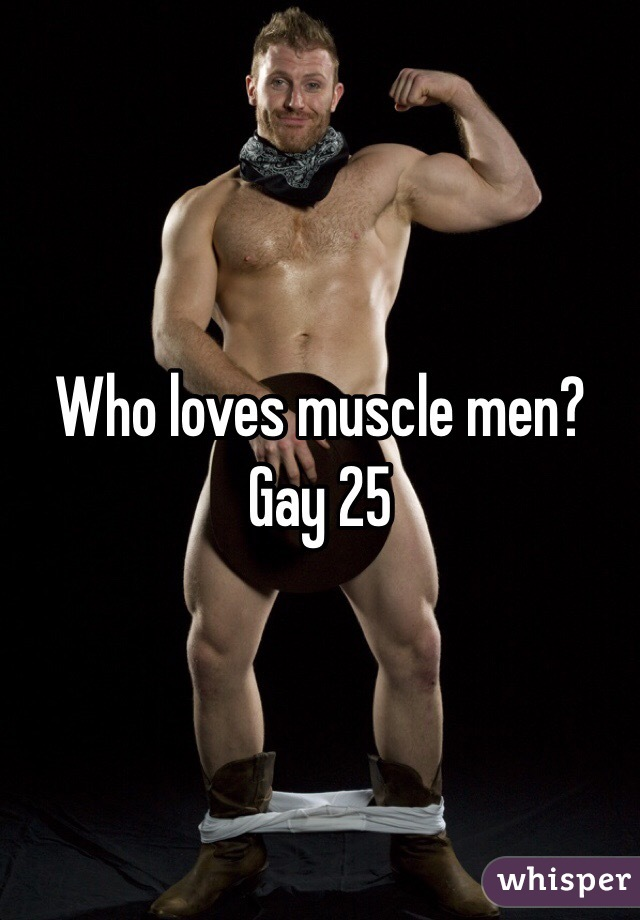 Gay muscle men pictures