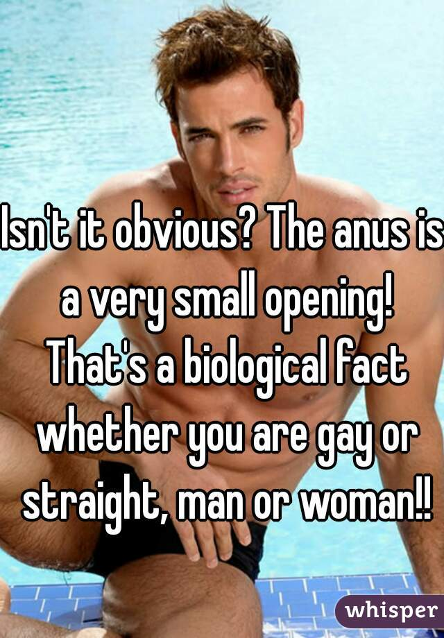 Gay toe in anus