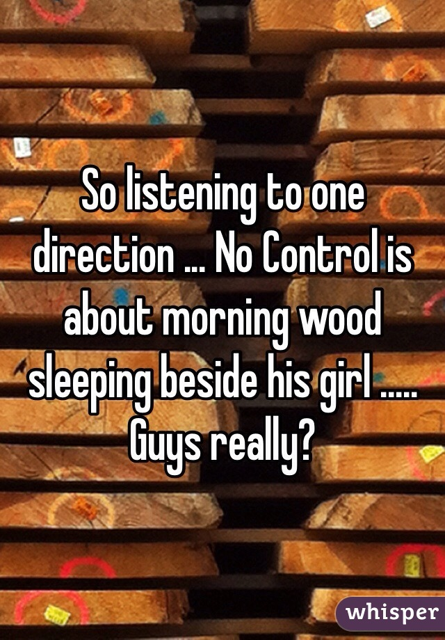 Advise you girls playing with morning wood