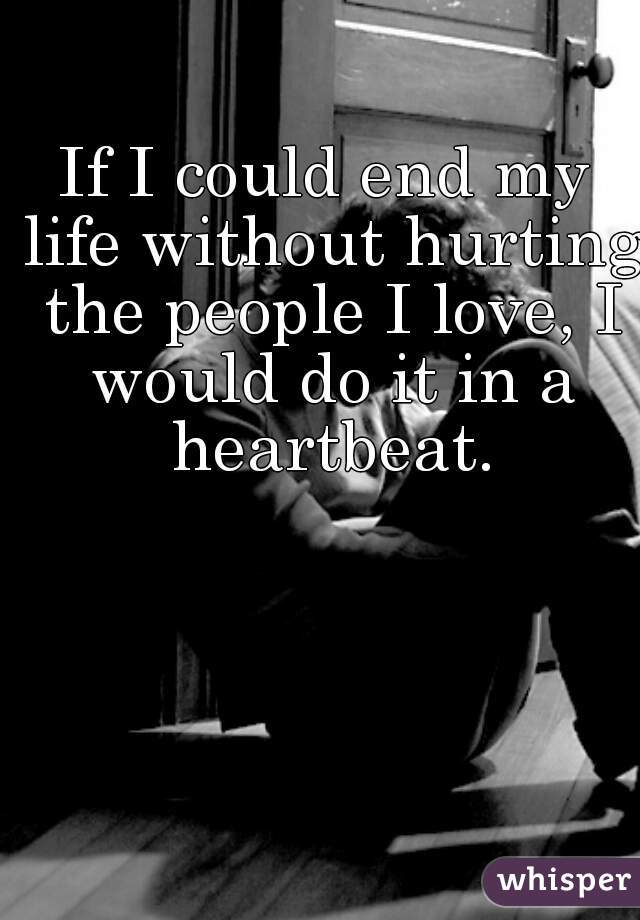 I could live without love if i wanted to