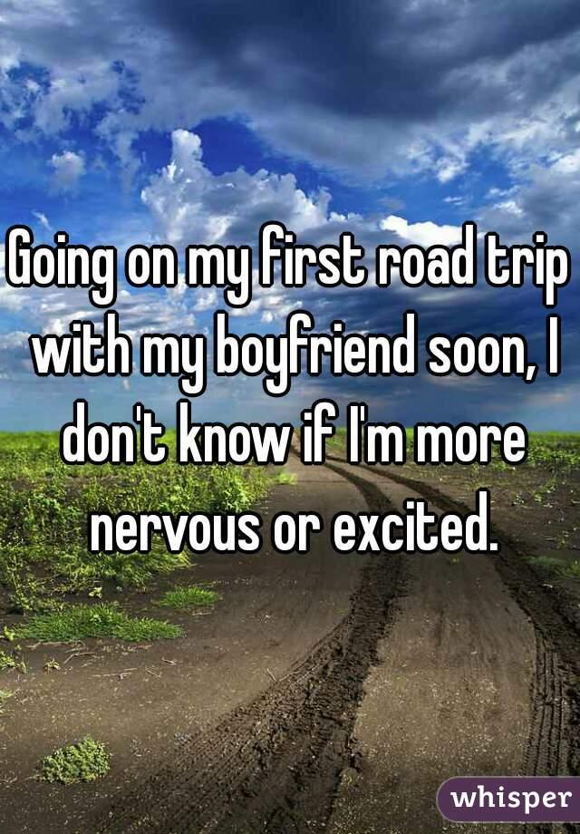 First weekend trip with boyfriend