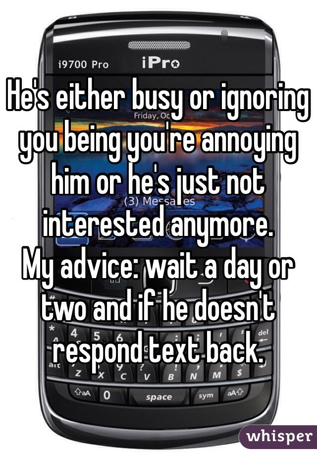 When a man ignores you ignore him back | Ignore the Guy, Get the Guy