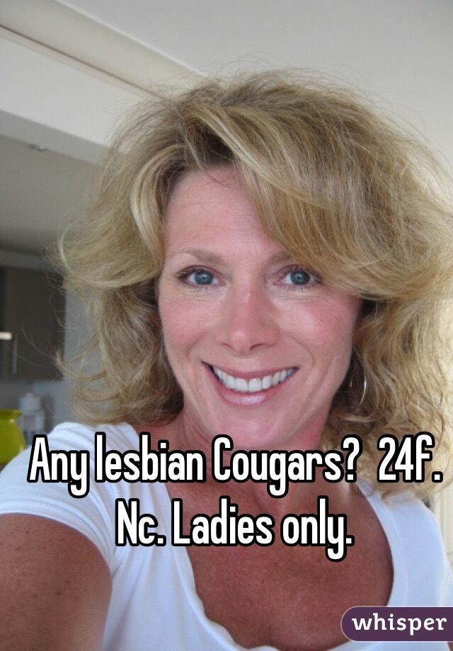 Lesbian cougars