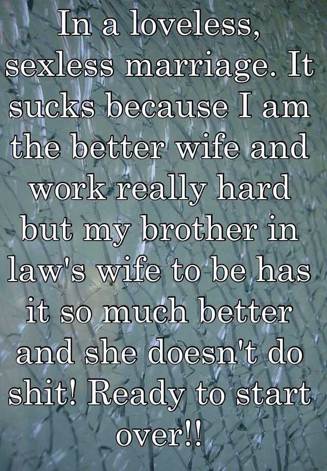 a sucks wife being Why